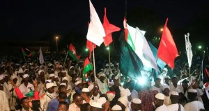 200 Sudanese protesters