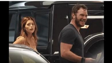 Chris Pratt and Katherine Schwarzenegger
