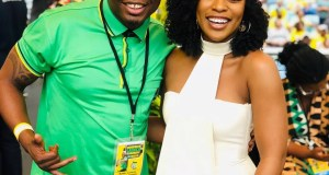 DJ Tira and Nomzamo