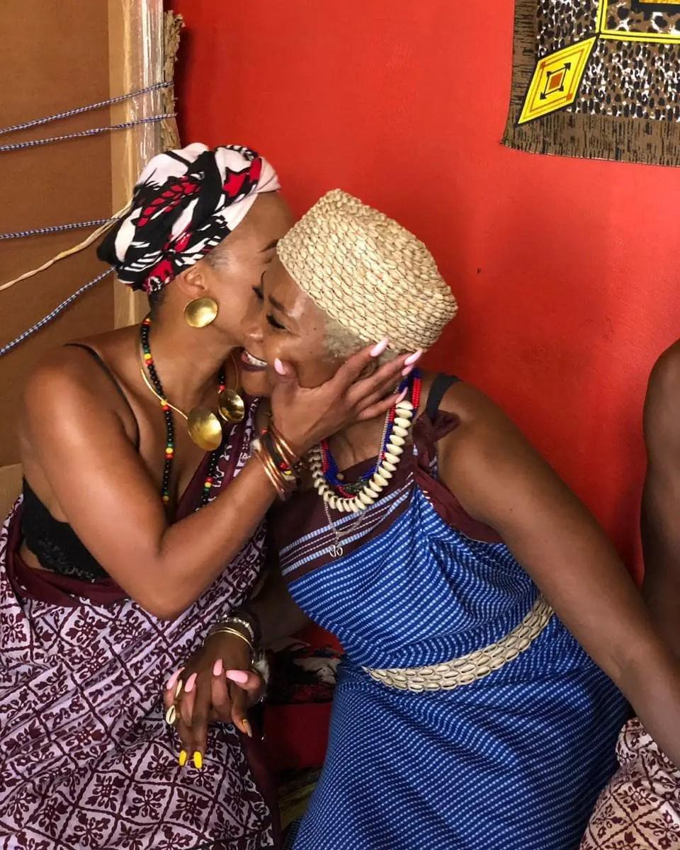 Masechaba Ndlovu clears the air on Sangoma rumours   News365