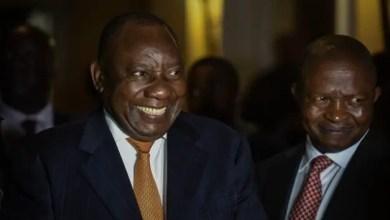Ramaphosa and Mabuza