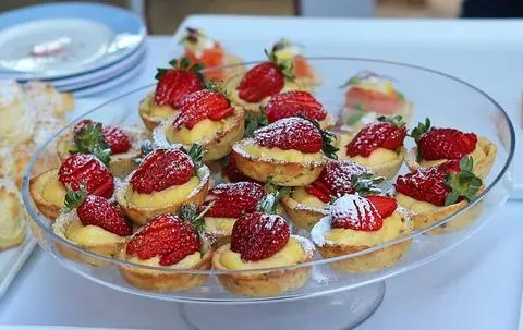 strawberry pastries