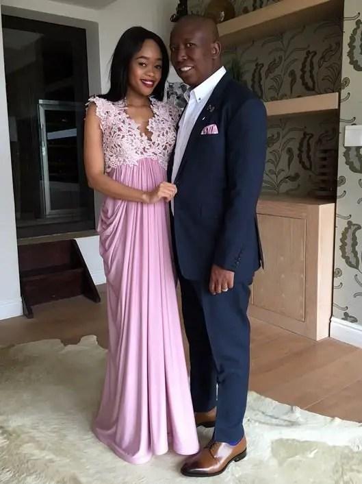 Julius and Mantwa Malema