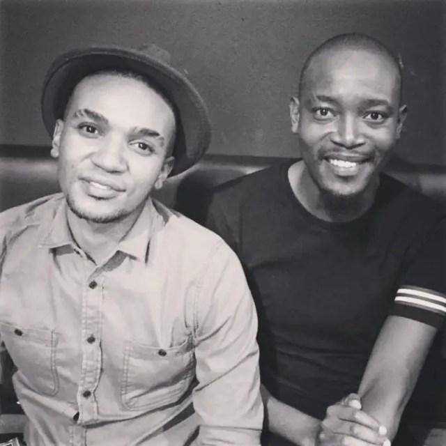Moshe Ndiki and Phelo Bala
