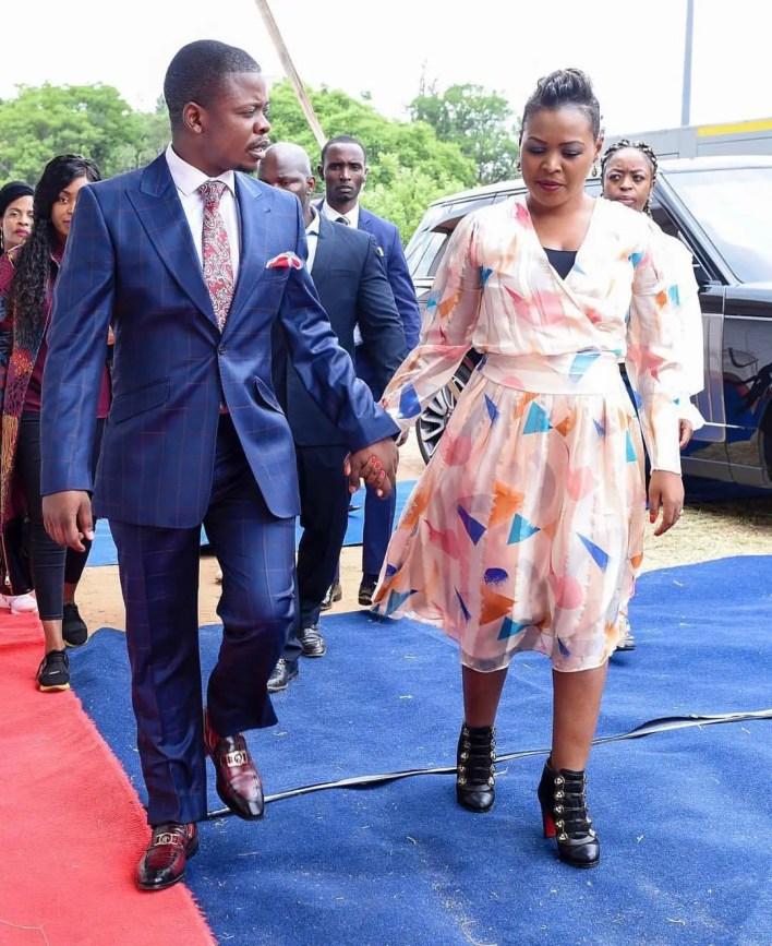 Prophet Bushiri and wife