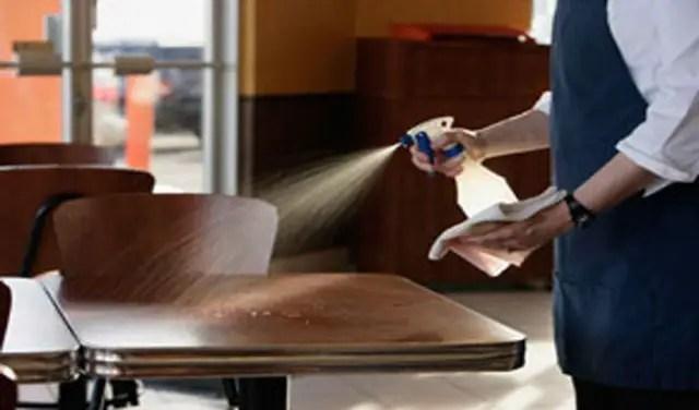 Restaurant cleaner