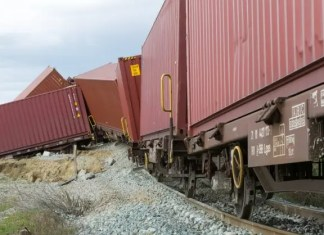 DRC train derailment