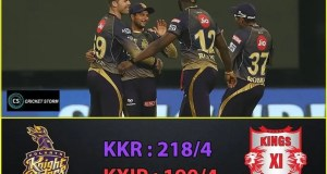 KKR vs King IX