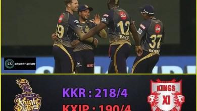 KKR vs King IX