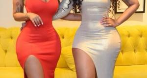 Kim Kholiwe and Faith Nketsi