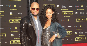 Palesa Morgan and Phat Joe