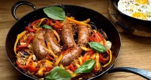 Spicy sausage patties