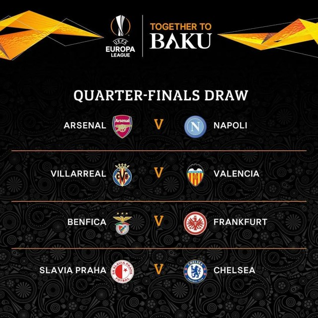 Ueropa League draw