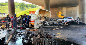 1 Dead 3 Injured in M7 Truck Accident