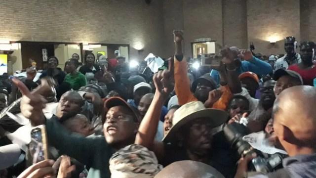 Alex residents & Mashaba