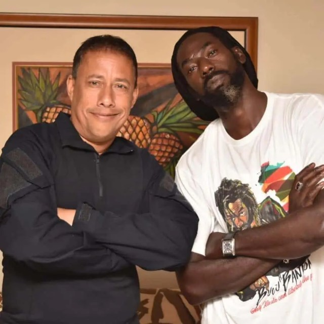 Buju Banton and Police Commissioner, Gary Griffith