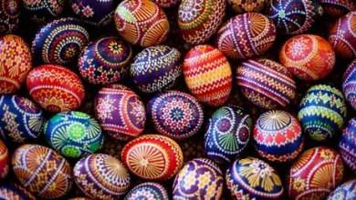 Easter egg painting
