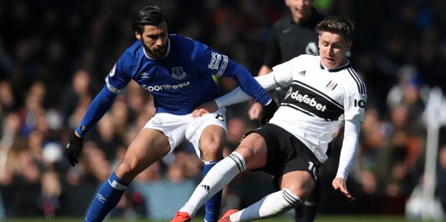 Fulham 2 Everton 0