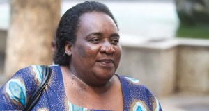 Labour Minister Mildred Oliphant