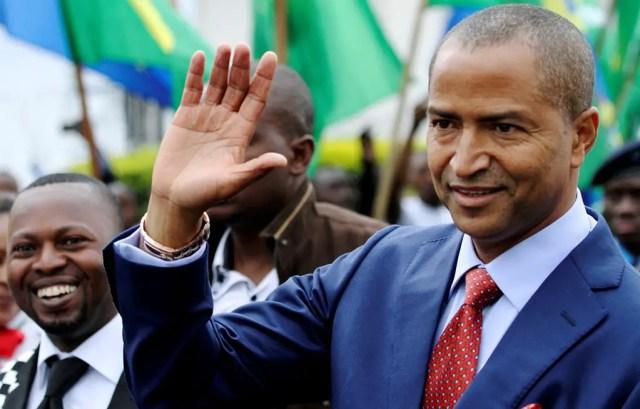 opposition leader Moise Katumbi