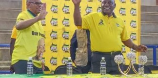 Ramaphosa in Juju's back yard