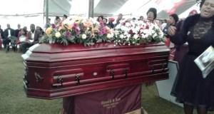 Sinethemba Jantjie Burial