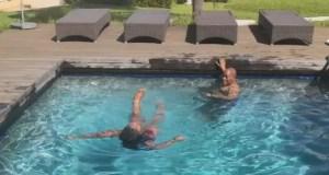 Jacob Zuma Swimming