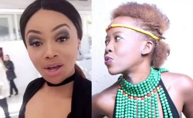 ntsiki mazwai and bonang matheba