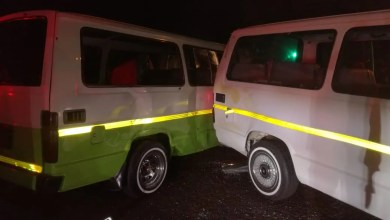 Photo of 4 mini-bus taxis crash into each other
