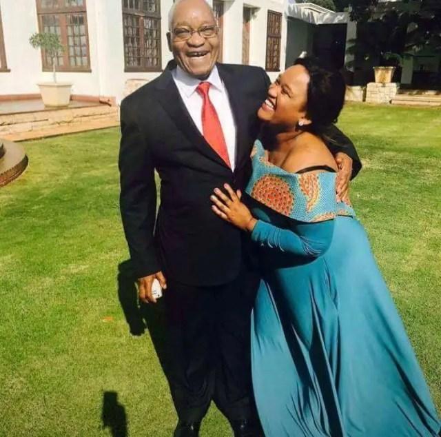 Brumelda Zuma and Jacob