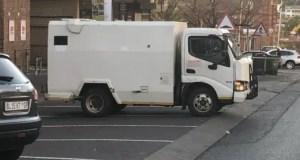 Cash in transit robbery in Laudium