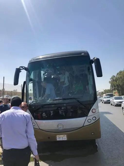 Egypt tourist bus