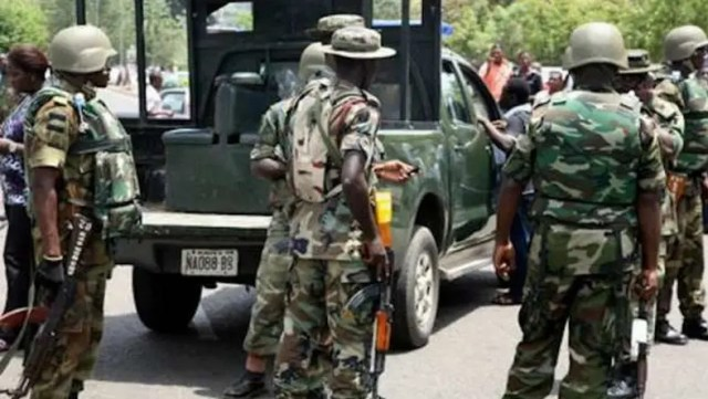Nigerian soldiers killed
