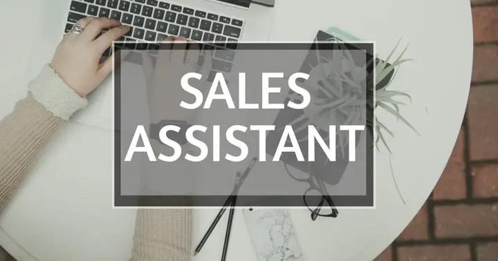 Part Time Sales Assistant