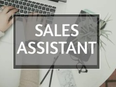 Part Time Sales Assistant