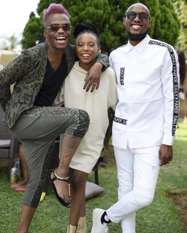 Somizi Mhlongo Shares Special Moment With His Daughter News365 Co Za