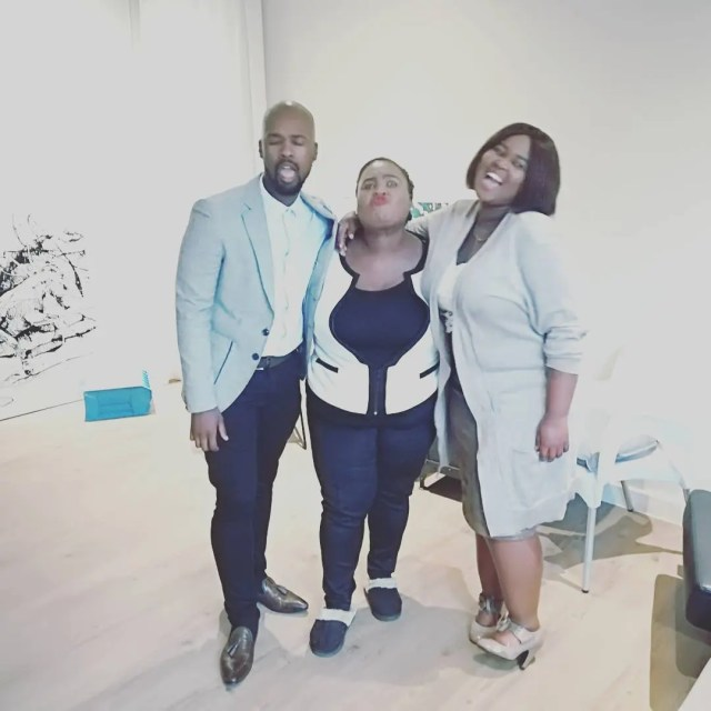 Thembsie Matu and her Kids