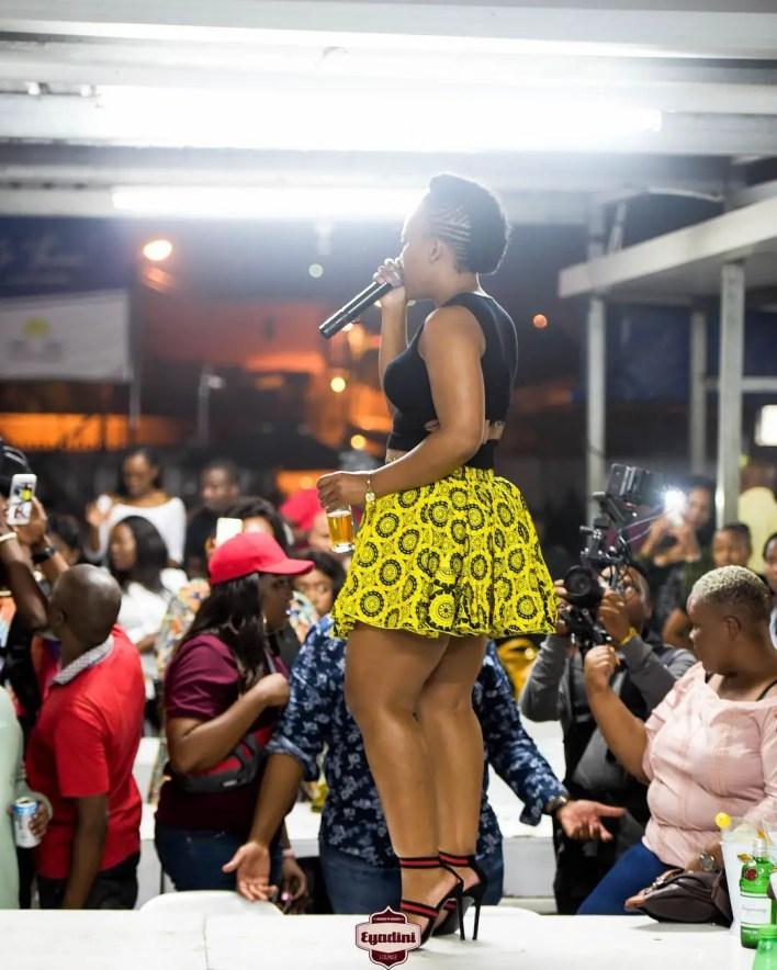 Zodwa Wabantu at Eyadini Lounge