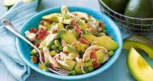 avocado and bacon salad