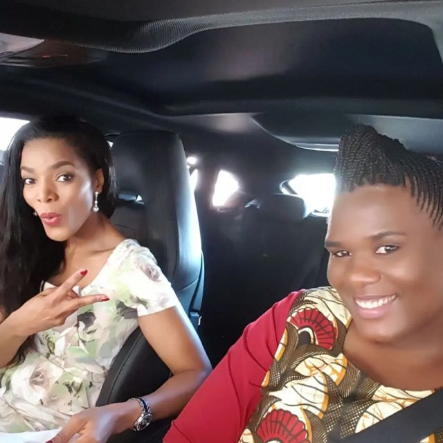 Connie Ferguson's sister