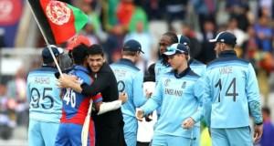 England beat Afghanistan