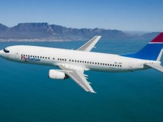 FlySafair flight