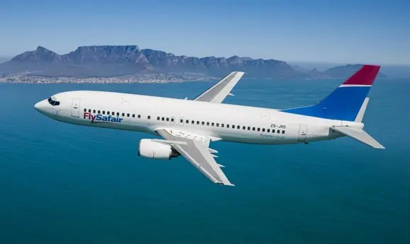 FlySafair flight