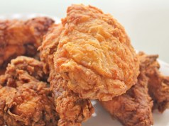 Fried chicken in buttermilk