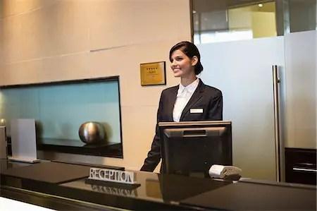 Front Desk Receptionist