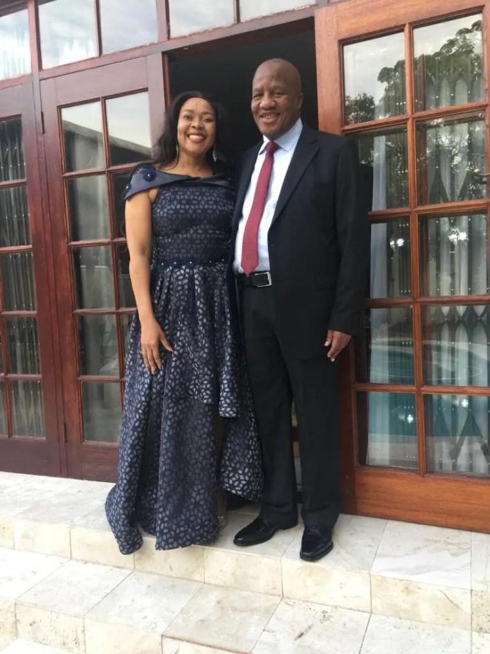 Jackson Mthembu and his wife