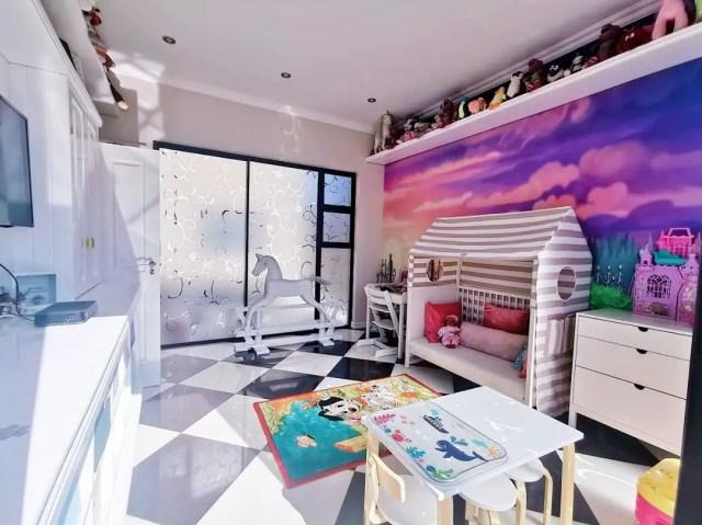 Kairo Forbe's gorgeous playroom