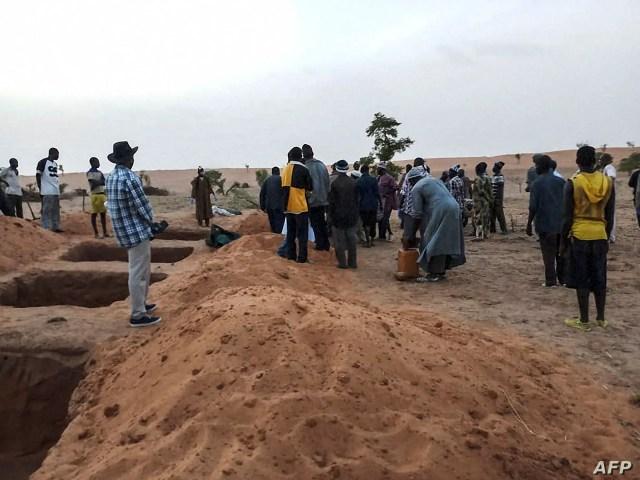Mali massacre victims