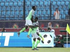 Nigeria 1 - 0 Guinea