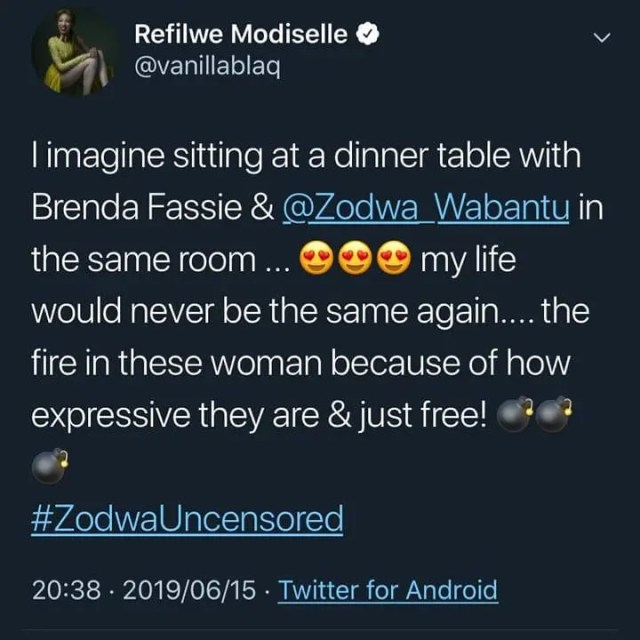 #ZodwaUncensored